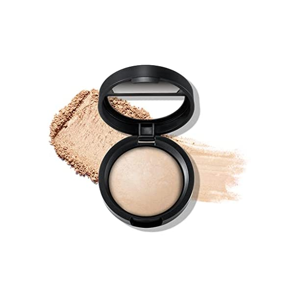 LAURA GELLER NEW YORK Baked Original Lo-Glow Glitter-Free Highlighter Makeup, French Toast