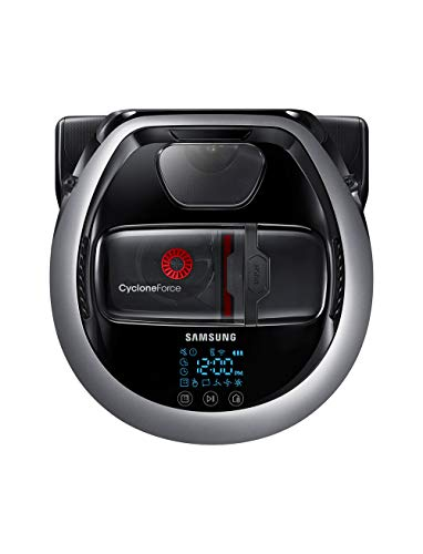 Samsung Electronics R7070 Robot Vacuum Self-cleaning Brush for Pet Hair, Ideal for Carpets & Hard Floors with 5160Pa Strong Performance, Works with Amazon Alexa and the Google Assistant