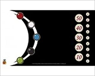 Nested Egg Gaming Supplies GMT019 The Tokens Black And White Gaming Playmat