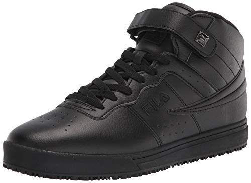 Fila Men's Work Food Service Shoe, Black/Black/Black, 10