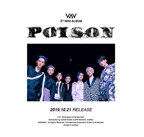 VAV - 5th Mini Album [Poison]