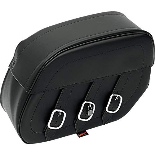 Saddlemen 5070P Starrer Universal-Drifter Satteltasche, schwarz