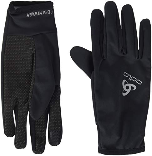 Odlo Gloves CERAMIWARM Grip Handschuh, Black, XS