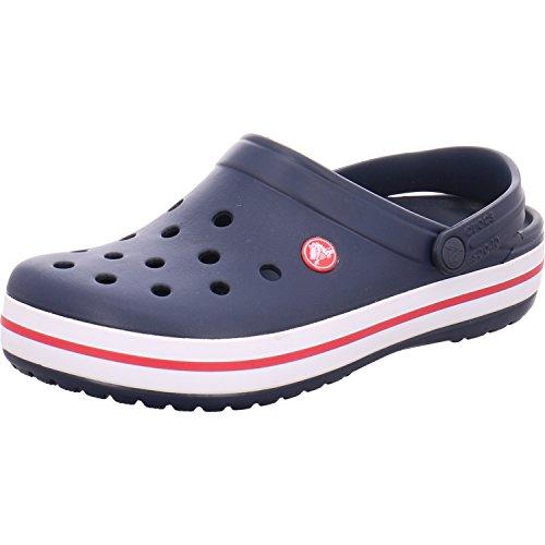 Crocs Unisex-Erwachsene Crocband Clogs, Gr.-43/44 EU, Blau