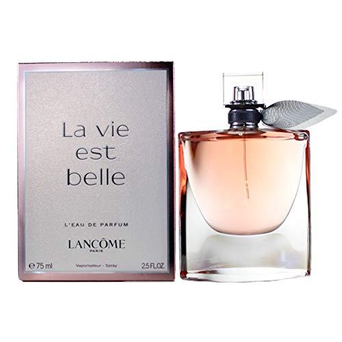 Lancome La vie est Belle Eau de Parfum, voor dames, verstuiver, per stuk verpakt (1 x 75 ml)