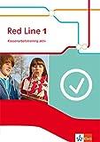 Red Line 1: Klassenarbeitstraining mit Mediensammlung Klasse 5