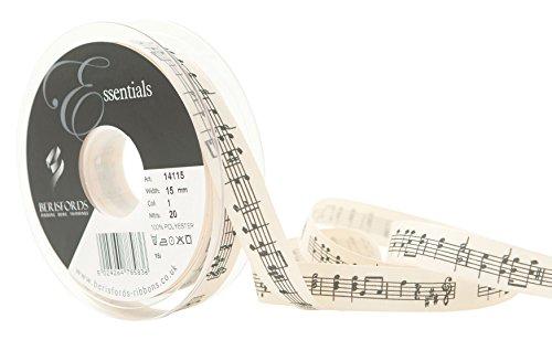Berisfords Cinta de Notas Musicales, Natural
