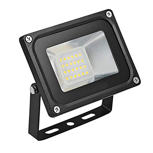 LED Strahler 10W 20W 30W 50W 100W 150W 200W 300W 500W 800W 1000W Warmweiß LED Wandstrahler Lampe Außenstrahler Aluminium Flutlicht Fluter 220V IP65 (1 Stück, 20W)