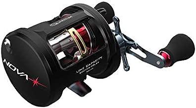 Quantum NOVA Conventional Fishing Reel, Size 350, Left-Hand Retrieve