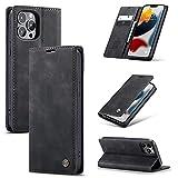 UEEBAI Wallet Case for iPhone 12 mini 5.4 inch, Premium PU