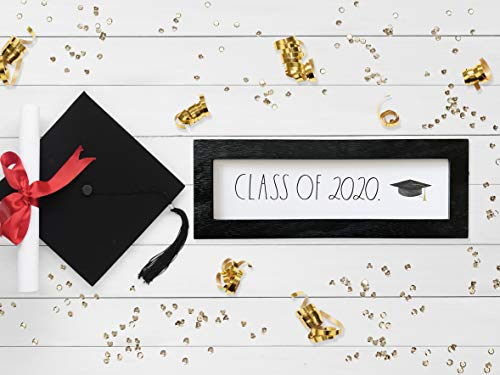 Graduation 2020 Desk Plaque
