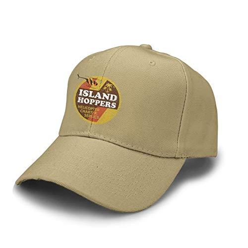 Magnum Pi Island Hoppers Unisex Classic Baseball Caps Adjustable Casquette Flat Hats Men Womens Trucker Caps
