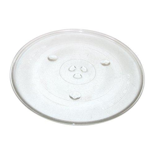 Qualtex Piatto di Vetro Girevole Universale per Microonde