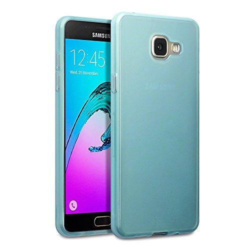 TERRAPIN, Kompatibel mit Galaxy A5 2016 Tasche, TPU Schutzhülle Tasche Hülle Cover für Samsung Galaxy A5 2016 Hülle Transparent Blau