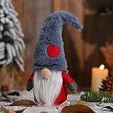 YsaAsaa Gesichtslose Puppendekoration, Plüsch-Bartpuppe, Ornamente, Weihnachtswald alter Mann Liebespuppe Valentinstag Liebespuppe Geschenk für Kinder