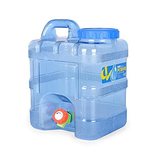 Depósito de agua de 5/10 l con pivotes, jarra de cubo de agua, soporte para bebidas, para camping, al aire libre, senderismo, llamada de emergencia