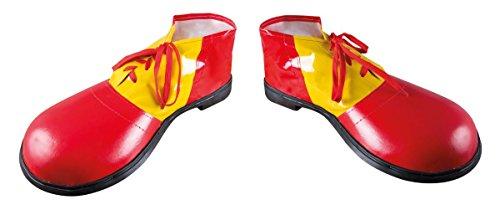 P 'tit Clown–17069–-Schuhe Clown Riesen Vinyl–Die Paar–Größe 36cm