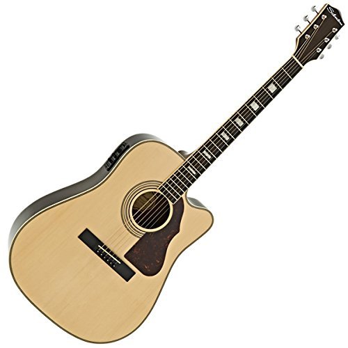 Silvertone 955CE Elektroakustische Gitarre Natural