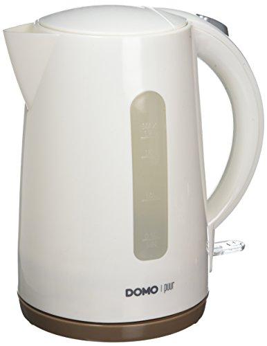 Bouilloire DOMO - Blanc - 1,7L - 2200W DO9134WK