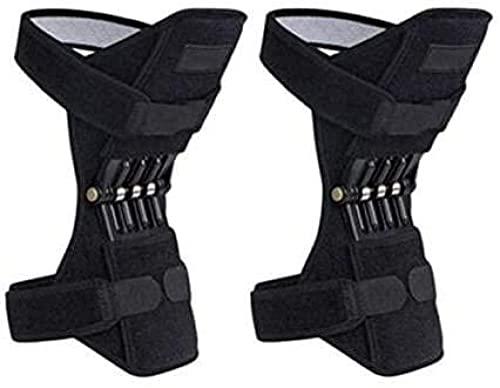 RRB Sports Knee Squat Booster Soporte de Rodilla Rodilleras Protector de Soporte de articulación de Rodilla Escalada Squat Booster Booster Equipo de Fitness de Rodilla UOMUN