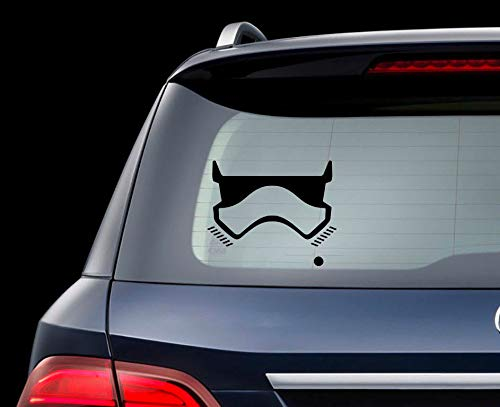 DKISEE Stormtrooper Car Decal Stormtrooper Sticker Stormtrooper Car Sticker For Truck Wall Window 8 inch