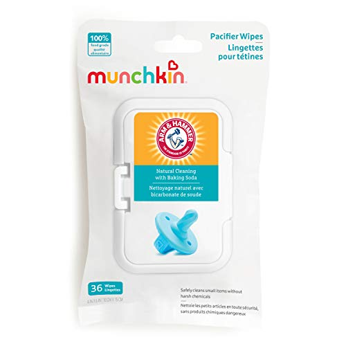 Munchkin Arm & Hammer Pacifier Wipes, 1 Pack, 36 Wipes (Baby Product)