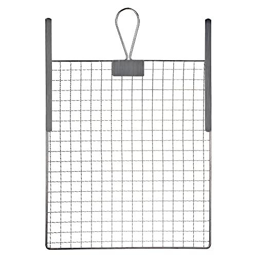RBMalerbedarf - Abstreifgitter | 26cm x 30cm Abstreifgitter für Farbe | Malerzubehör - Verzinktes Abtropfgitter mit Biegemetall - Einfache Reinigung - Deutsche Qualitätsmarke