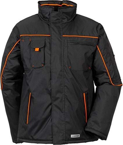 Planam 3535 Piper Jacke schwarz/orange (L (52/54), schwarz/orange)