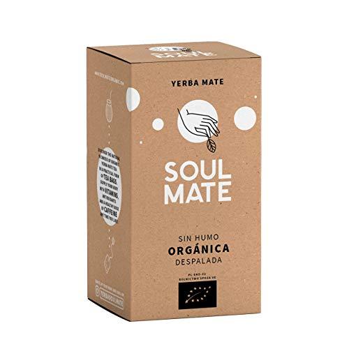 Yerba Mate Soul Mate Despalada Organica Teebeutel 20 x 2g Biozertifizierter Mate Tee ohne Zusatzstoffe Hoher Gehalt an natürlichem Koffein