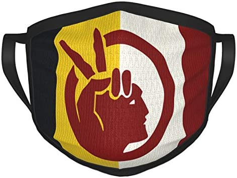 Flag of The American Indian Movement Adult Masks Face Cover Protect Anti Dust Reusable Cover product image