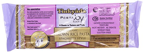 Tinkyada Pasta Joy Ready, Spaghetti, Brown Rice, Organic, 12oz