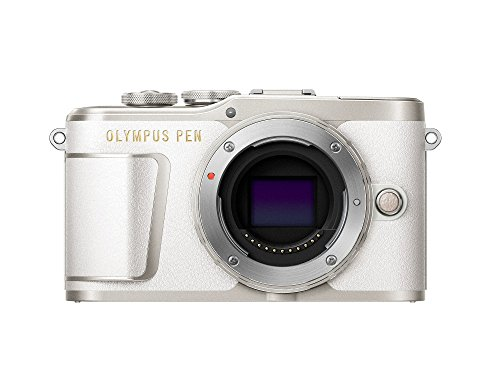 Olympus PEN E-PL9 Body Only with 3-Inch LCD (Pearl White)