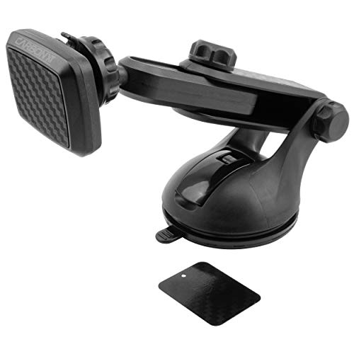 CARBON XT Super Stick Windshield/Dash Mount Magnetic Phone Holder with Extension Arm