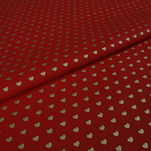 Cortinas de alta calidad de tela nuevo METERWARE Store blanco//Burdeos//oro