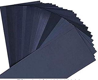 紙やすり 耐水ペーパー サンドペーパー 研磨紙 木工 12枚 (1500 2000 2500 3000 5000 8000 各2枚)