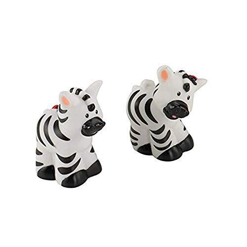 Fisher Price Little People Animals  Noah s Ark  Zoo Animals  Male & Female Zebra Family Pair