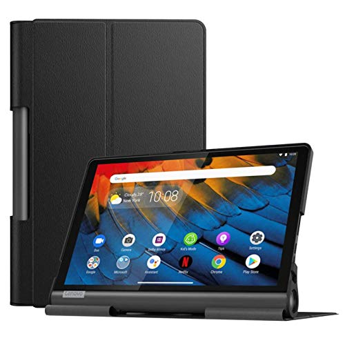 KATUMO Hülle für Lenovo Yoga Smart Tab 10.1 Zoll (YT-X705F) Hülle Yoga Smart Tab Schutzhülle mit Standfunktion Hülle YT-X705F