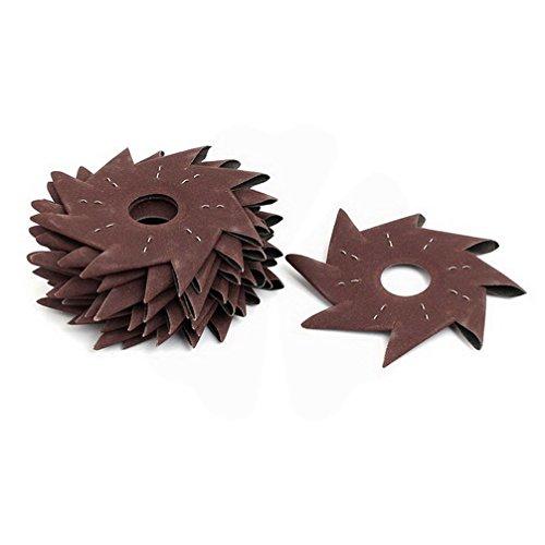 Why Should You Buy 180 Grits 5 Pinwheel Shaped Octagonal Abrasive Sandpaper Polishing Tool 15pcs by...