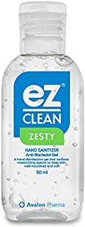 Avalon Pharma Ez-Clean Hand Sanitizer, 50 ml