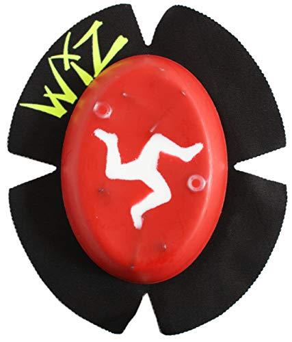 WIZ Racing Knieschleifer Sparky, Isle of Man - rot-weiß