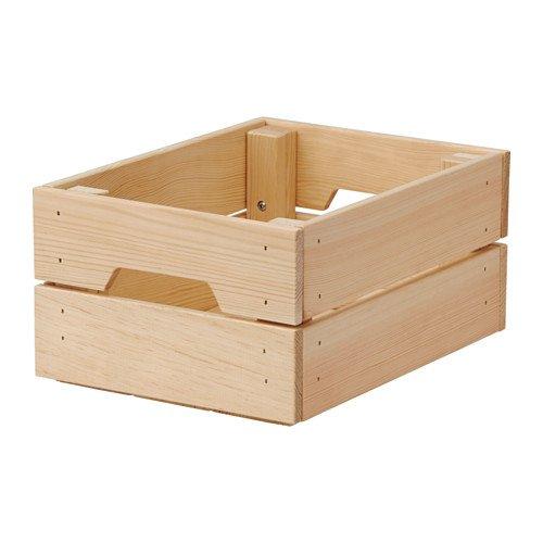 Ikea Knagglig Box, Pine, 9' x 12 1/4' x 6'