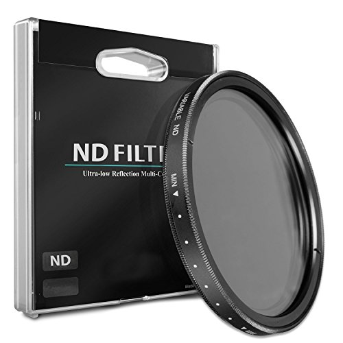 52mm ND Variable Neutral Density Filter for Canon EF 40mm f/2.8 STM Pancake Lens