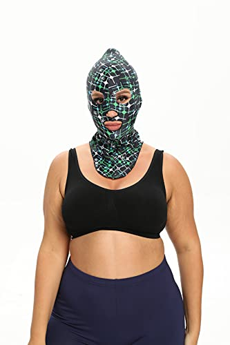 Swimming Full Head Sunscreen mask Facekini Face Bikini Sun Burn Protection for Both Kids and Adults