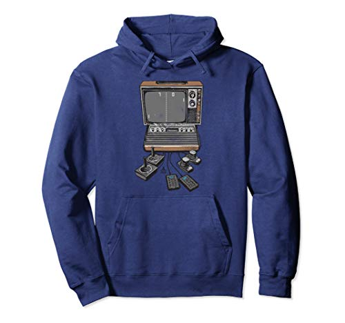 Atari Pong TV Official Hoodie for Adults, 4 Colors, Unisex S to 2XL