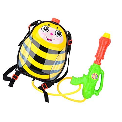 VILLCASE Mochila Pistola de Agua para Niños con Tanque Lady Bug Juguetes para Niños de Verano Aire Libre Juguetes para Piscina de Alta Presión