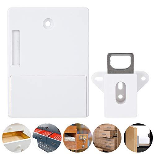 Cerradura electrónica para Armario, cerraduras RFID, Seguridad para el hogar, Seguridad Inteligente para Armario antirrobo para el hogar, Armario para Sauna(White, Pisa Leaning Tower Type)