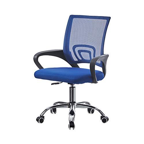 OFCASA - Silla de escritorio para ordenador con soporte lumbar ajustable, acolchada y giratoria, silla de oficina ejecutiva, silla ergonómica para niños y adultos, oficina en casa