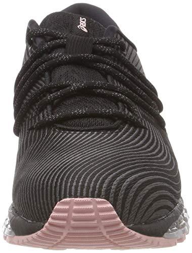 Asics Gel-Quantum 360 4, Zapatillas de Entrenamiento Mujer, Gris (Carbon/Black 020), 41.5 EU