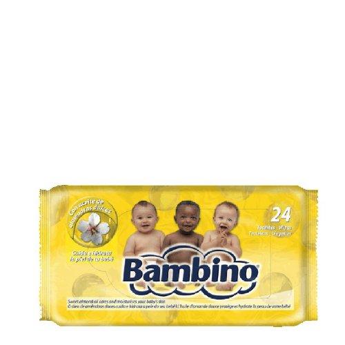 Bambino - Toallitas húmedas para bebé (24 unidades)