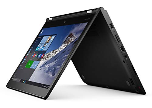 Lenovo ThinkPad Yoga 460 Convertible Tablet 14 Zoll Multi Touch Display 1920×1080 Full HD Core i5 512GB SSD Festplatte 8GB Speicher Win 10 Pro 20EM000QGE (Generalüberholt)